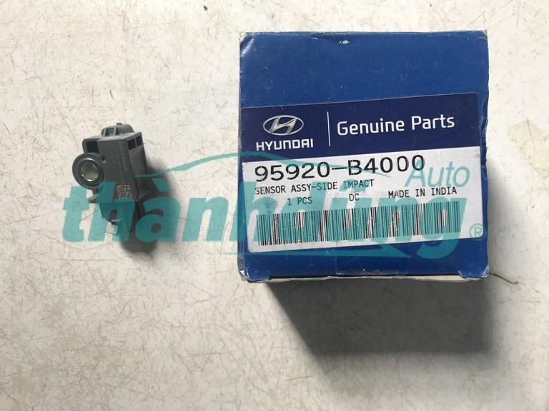 CẢM BIẾN VA CHẠM/KÍCH NỔ TÚI KHÍ HYUNDAI I10 GRAND-95920B4000,sản xuất bởi Mobis, phụ tùng chính hãng, giá tốt nhất